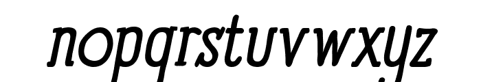 Panforte Serif Italic Font LOWERCASE