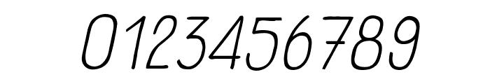 Panforte Serif Light Italic Font OTHER CHARS
