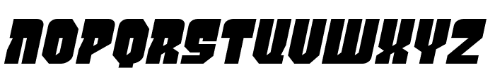 PanicButton BB Italic Font LOWERCASE
