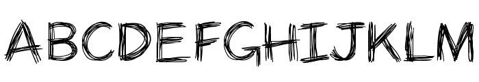 PanicStricken Font UPPERCASE