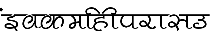 Pankaj Font LOWERCASE