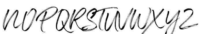 Panterick Font UPPERCASE