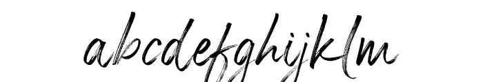 Panterick Font LOWERCASE