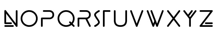 Panther Black Font UPPERCASE