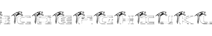 Panther Font UPPERCASE