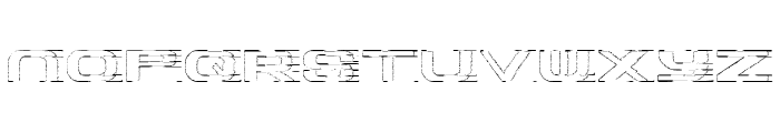 Panther Font LOWERCASE
