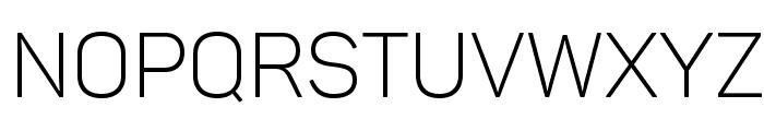 Panton Light Caps Font UPPERCASE