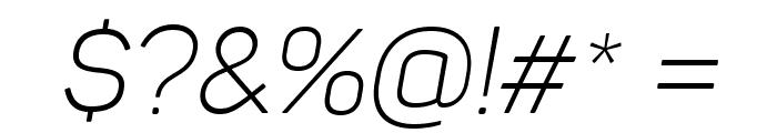 Panton Light italic Caps Font OTHER CHARS