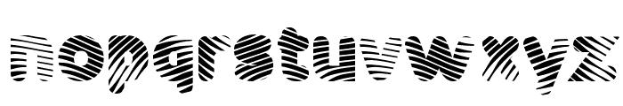 Pants Patrol Font LOWERCASE
