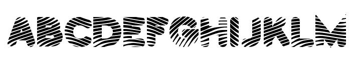 PantsPatrol-Regular Font UPPERCASE