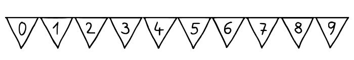 Paper Banner Regular Font OTHER CHARS