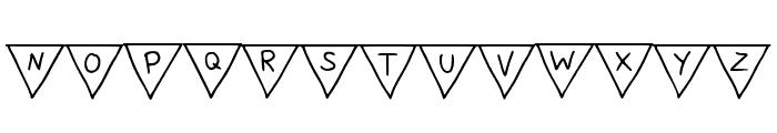 Paper Banner Regular Font UPPERCASE