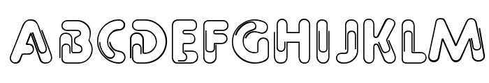 Paper Clip Font UPPERCASE
