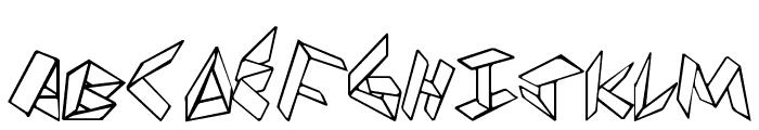PaperFolder Font UPPERCASE
