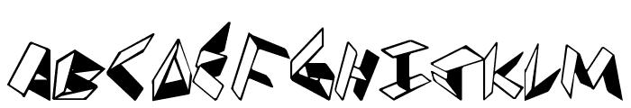 PaperFolder Font LOWERCASE