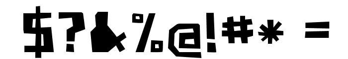 PaperJohnnyDrei-Regular Font OTHER CHARS