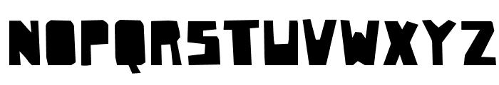 PaperJohnnyDrei-Regular Font UPPERCASE