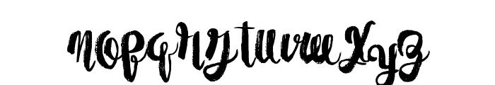 PaperScraps Font UPPERCASE