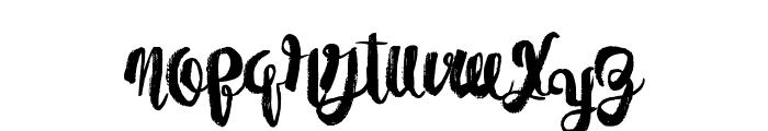 PaperScraps Font LOWERCASE