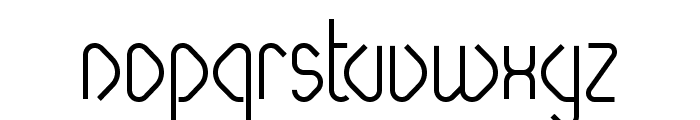 Paperclip Bold Font LOWERCASE
