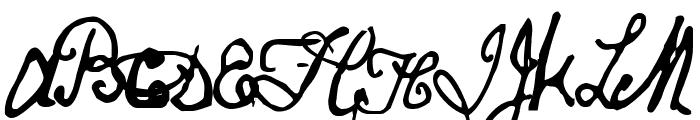 Papineau Regular Font UPPERCASE