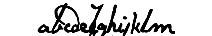 Papineau Regular Font LOWERCASE