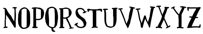 Paquita Font UPPERCASE