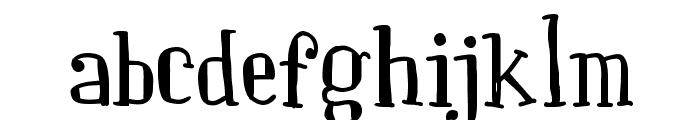 Paquita Font LOWERCASE