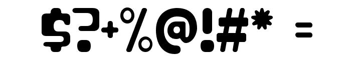 ParaAminobenzoic-Regular Font OTHER CHARS
