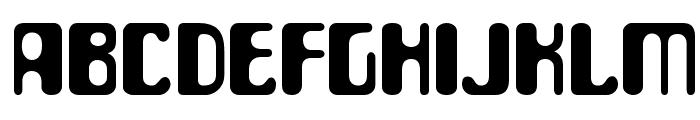 ParaAminobenzoic-Regular Font LOWERCASE