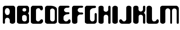 ParaAminobenzoic Font UPPERCASE