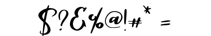 Parabellum Regular Font OTHER CHARS
