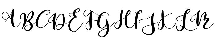 Parabellum Regular Font UPPERCASE