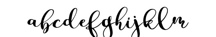 Parabellum Regular Font LOWERCASE