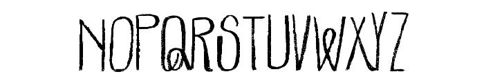 Parachutes-Regular Font UPPERCASE
