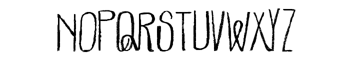 Parachutes-Regular Font LOWERCASE