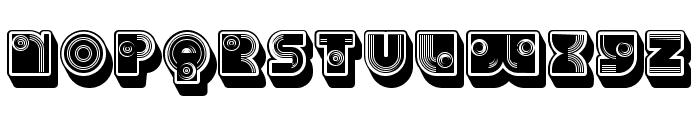 Parade Regular Font UPPERCASE