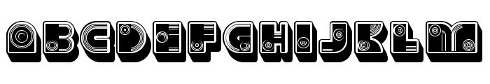 Parade Regular Font LOWERCASE