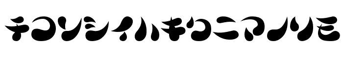 Parade20KT Font LOWERCASE