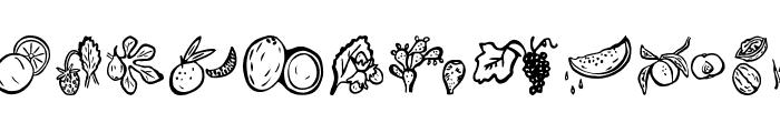 Paradise-s-Fruits Font LOWERCASE