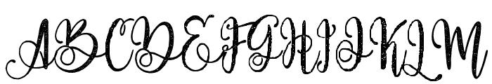 ParadisoVintageDemo Font UPPERCASE