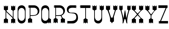 Parador Tryout Font UPPERCASE