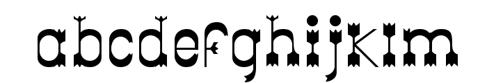 Parador Tryout Font LOWERCASE