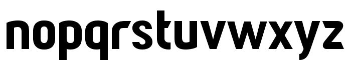 Paragon Black Font LOWERCASE