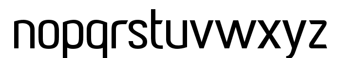 Paragon Medium Font LOWERCASE