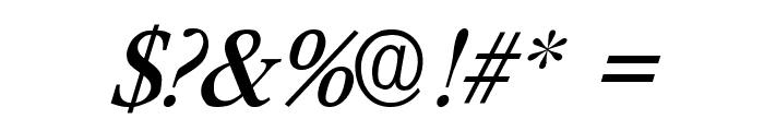 Paramount Italic Font OTHER CHARS