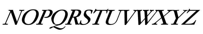 Paramount Italic Font UPPERCASE