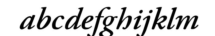 Paramount Italic Font LOWERCASE