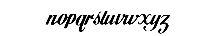 Paramount Mountain v1 Font LOWERCASE