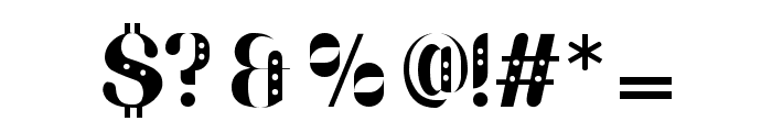 Parang Sondaica Font OTHER CHARS